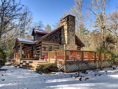 "Photo for ""Firefly"" Cottage - In-Town, Private, Designer Luxury, Gated, 3/3 w 2 fireplaces"