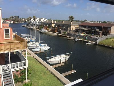 Photo for Padre Island Penthouse-Style Condo on the Canal at 14300 S. Padre Island Dr.