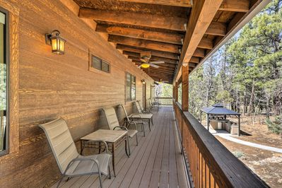 Run away to Pinetop-Lakeside and stay at this secluded vacation rental home!