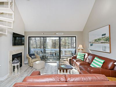 Photo for 9805W: Remodeled 2BR+loft Sea Colony West condo! Private beach, pools, tennis ...