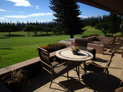 Cant find a more relaxing place than a lanai in Kapalua in Maui!