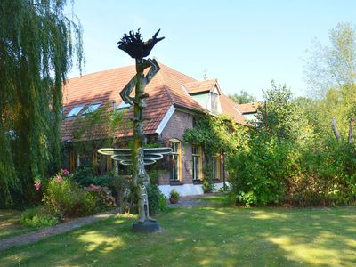 Photo for Large farmhouse with lots of double bedrooms and an enclosed garden, in the Achterhoek.