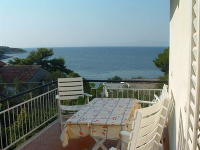 Photo for Apartment Mer  A1 Meri 1(4+1)  - Postira, Island Brac, Croatia