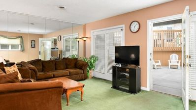 Photo for BEAUTIFUL & SPACIOUS condo 1 block to the Beach with pool!