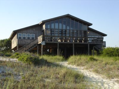Photo for Beach house in Orange Beach directly on the beach