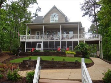 Beautiful 5 BR, 3 BA, Lake Front Home;