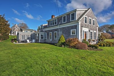 Escape to this 5-bed, 4.5-bath 1801 Sea Captain's House in Chatham!