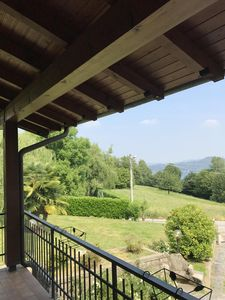 Photo for Villa surrounded by greenery overlooking Lake Maggiore