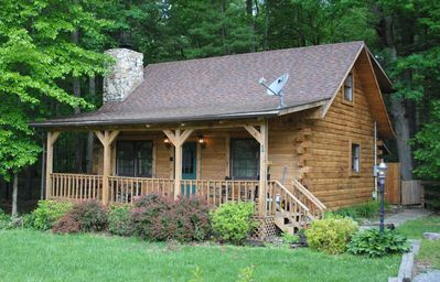 Photo for The Whitetail, at beautiful cozy log cabin. Our rates are all 12% taxes included