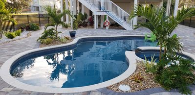 Photo for * Seabreeze -Yes Plz!  New Heated Saltwater Pool & Spa! Lifelong Memories!