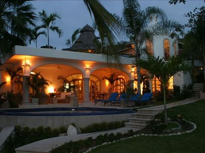 Photo for Villa Del Oso - Ultimate Luxury Beachfront Mansion