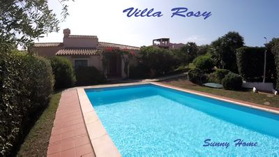 Photo for Villa of 130mq on 2 levels, with quiet private garden and swimming pool