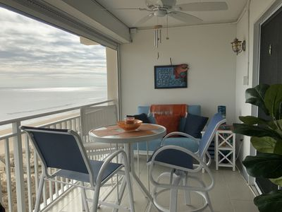 Photo for Romantic, Oceanfront Oasis -- Right on the Beach