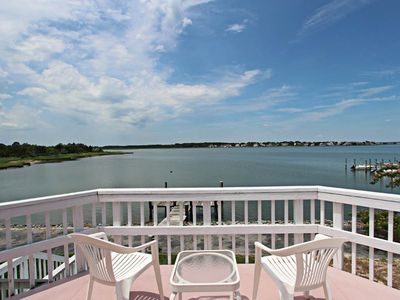 Photo for N40CW: PET FRIENDLY! Great Bay Views! 5BR Cotton Patch West, North Bethany Home!