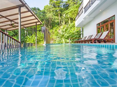 Photo for Fabulous villa in the heart of Phuket, pool table, private pool, chef maids