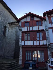 Photo for Authentic 17th century Basque house, in the heart of the historic site of Ciboure
