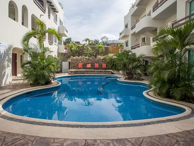 Photo for 2 Bedroom Condo. + Pool close to the beach, 5th Ave