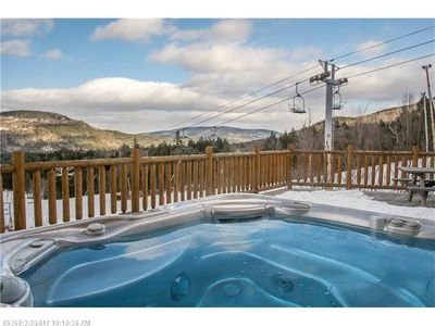 Photo for Sunday River luxurious townhouse with ski in/out directly on the mtn.