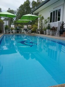 Large 10mx4m Private Salt Water Pool And Spa