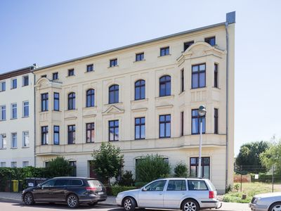 Photo for Ground floor apartment with terrace in the backyard in iconic Magdeburg-Sudenburg