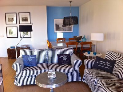 Photo for Luxurious and cozy apartment with fantastic sea and beach views
