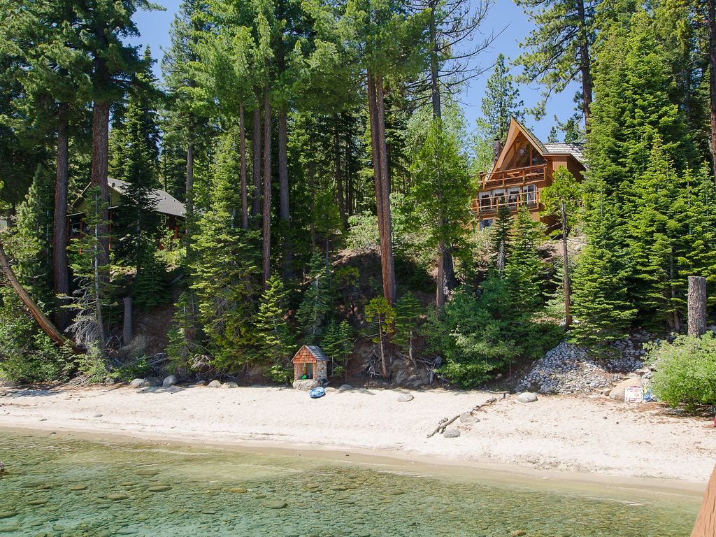 rentals lake gallery heavenly lakefront cabin mins cabins home tahoe of cozy property vacation this image to us hotel