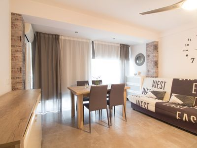 Photo for Nice renovated apartment for 7 people located in Salou a few meters to the beach