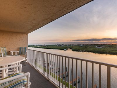 Photo for ☀️🐬NEW, PROFESSIONALLY CLEANED INDIAN SHORES 6th FL BEAUTY w/GULF VIEWS!🐬☀️