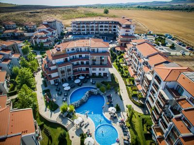 Photo for 2 room 65sqm apartment for 4 people, in Vineyards SPA Resort in Sunny Beach