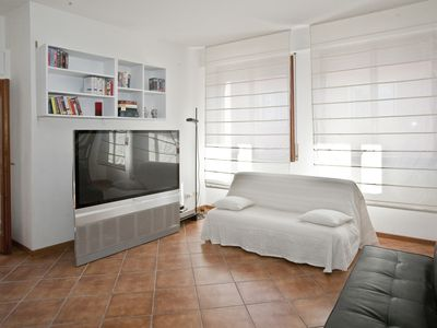 Photo for Charming penthouse in the center of Bologna