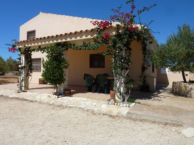 Photo for Rural house L'Ametlla de Mar with private pool.