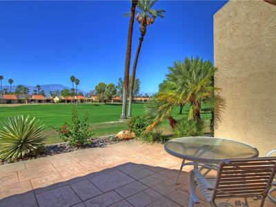 Photo for PY584 - Palm Desert Resort CC - Newer with Garage on Double Fairway PET FRIENDLY!