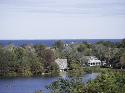 Photo for LAKE FRONT HOME WITH SPECTACULAR OCEAN & LAKE VIEWS - CLOSE TO AREA BEACHES