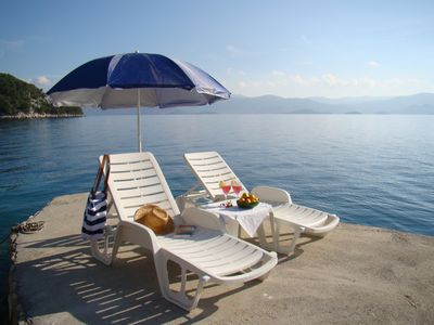 "Photo for MAGICAL HOUSE "" MARICA"" WITH PRIVATE BEACH, PARADISE  FAR AWAY FROM STRESS LIFE"