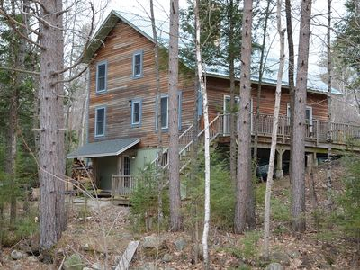 Photo for Home Away from Home 3 Bedroom, 3 Bath Vacation Home on Rocky River Glen, NH