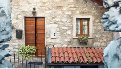 Photo for BEAUTIFUL COTTAGE WITH BREATHTAKING VIEW IN SMALL VILLAGE ON LAKE COMO