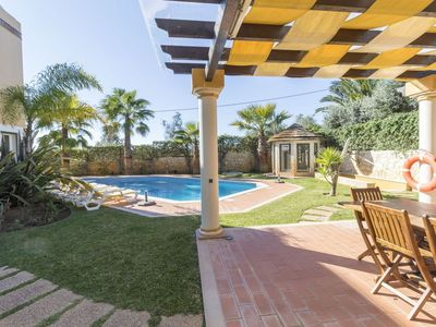 Photo for Casa Campo in Guia with 4 bedrooms sleeps 8, Ac,WiFi and private pool