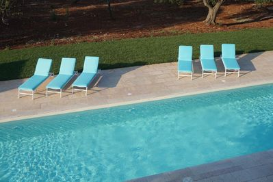 Equipped with day beds and plenty of shade