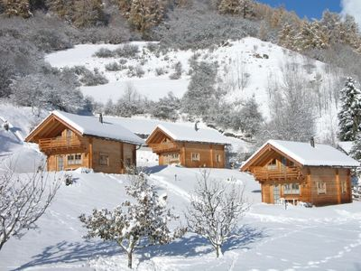 Photo for Apartment Ferienhaus Chalets Trafögl in Val Müstair - 5 persons, 2 bedrooms