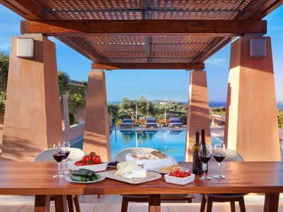 Photo for Villa AnnaNiko  - Luxury - Amazing views - Spacious Heated Pools - Hot tube