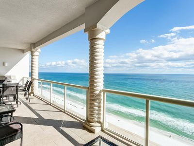 Photo for Gulf Front Penthouse! Spectacular Beach Front Condo w/2 Heated Pools!