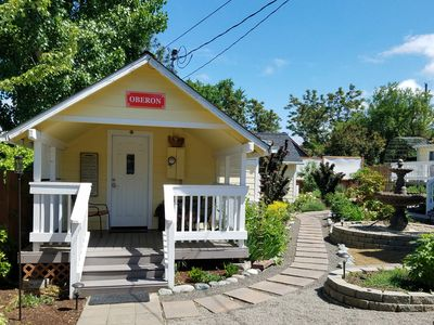 Photo for ~AGC~ Oberon 4 Blocks 2 Downtown - Charming Cozy Private Stylish Shakespeare OSF