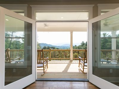 Photo for Foxhaven has Breathtaking Views - Only 15 Mins to downtown Asheville