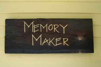 """What life on the pond is about  """"making memories""""."""