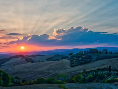 Photo for PODERE SALICOTTO Stylish Tuscan Villa - breathtaking views & romantic sunsets