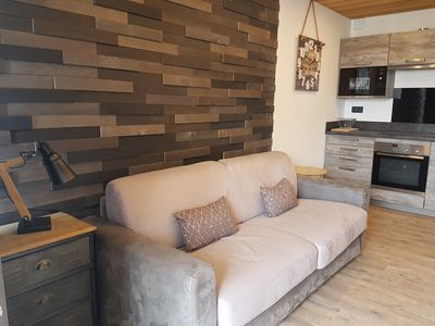 Photo for 33m2 apartment with modern mountain decor garage