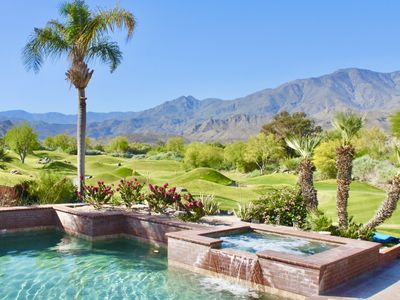 Photo for Clean, Safe, Saltwater Pool, and Panoramic Mountain Views!