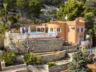 Photo for Villa with private pool and sea views in Calpe