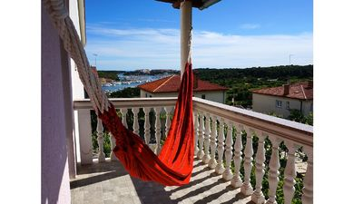Photo for 4 persons apartment - sea view, balcony, hammock, free WiFi