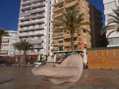 Photo for Beautiful apartment on the Paseo Maritimo de Vinaros with magnificent sea views